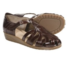 Beautifeel Brazil Sandals - Leather (For Women) in Brown - Closeouts