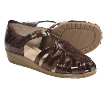 Beautifeel Brazil Sandals - Leather (For Women) in Brown