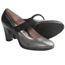 BeautiFeel Hasna Mary Jane Pumps - Leather (For Women) in Grey/Black - Closeouts