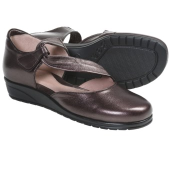 Beautifeel Hope Shoes - Leather (For Women) in Dark Brown