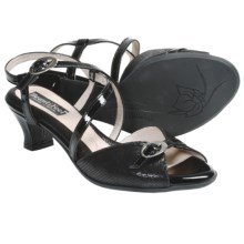 BeautiFeel Khloe Sandals - Leather (For Women) in Black - Closeouts