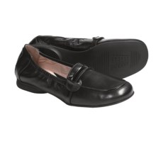 BeautiFeel Kira Leather Shoes - Slip-Ons (For Women) in Black - Closeouts