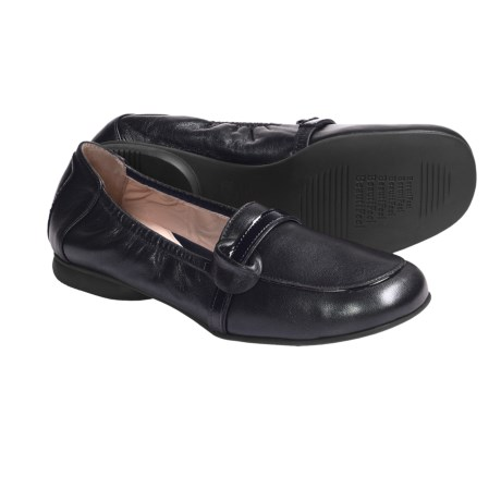 BeautiFeel Kira Leather Shoes - Slip-Ons (For Women) in Black