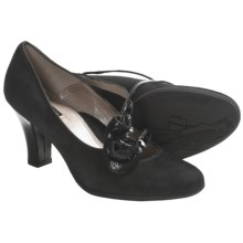 BeautiFeel Star Mary Jane Pumps - Suede (For Women) in Black Suede - Closeouts