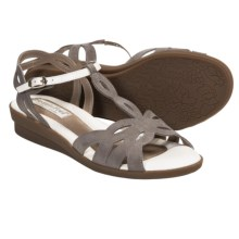 BeautiFeel Thea Leather Sandals (For Women) in Clay Nubuck - Closeouts