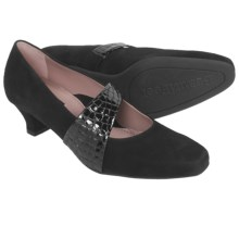 BeautiFeel Victoria Suede Pumps (For Women) in Black Suede - Closeouts