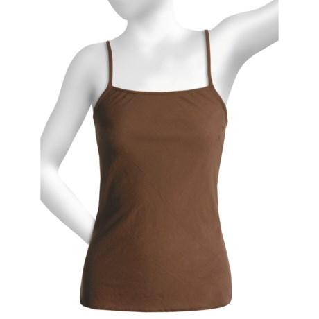 Beautiful by Pura Vida Semi-Sheer Camisole (For Women) in Brown