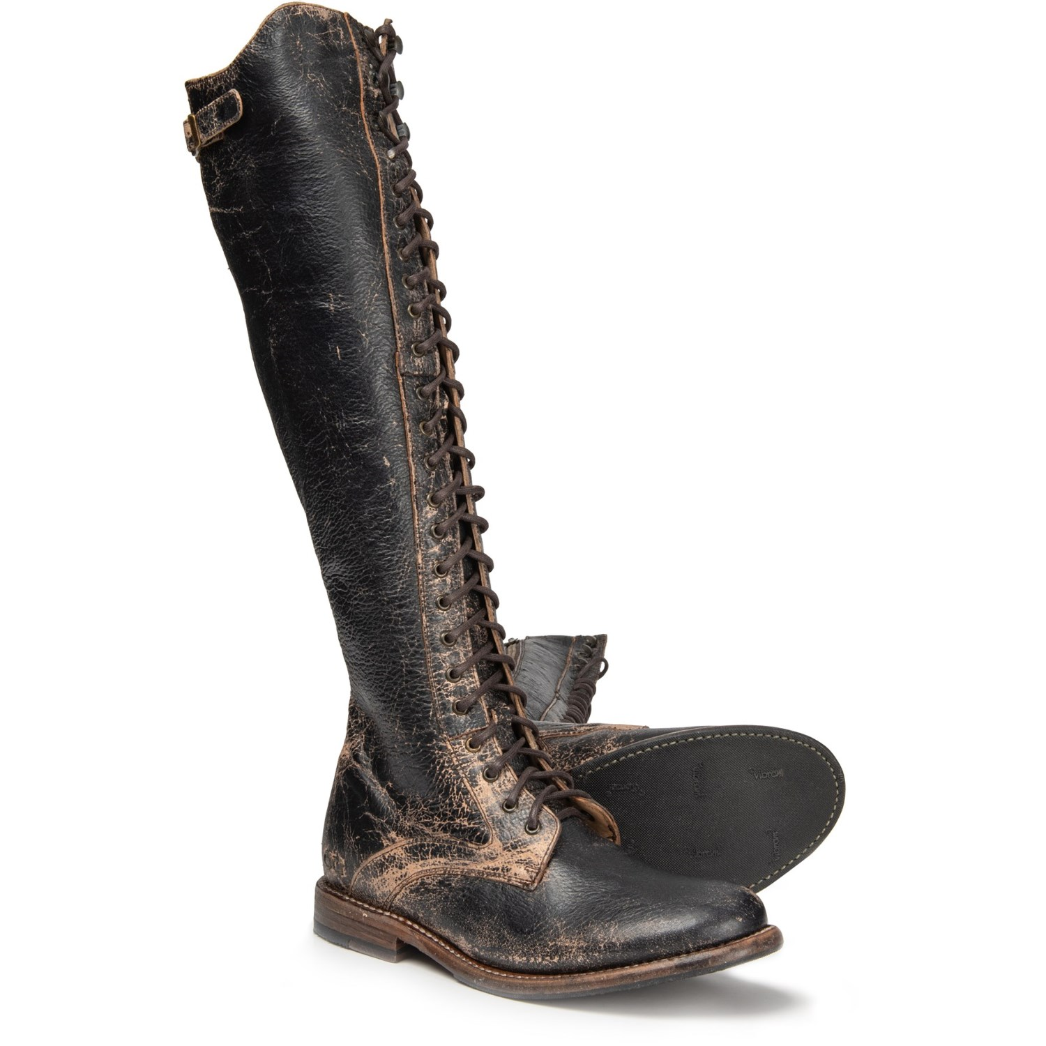 Bed Stu Della Tall Lace Boots (For