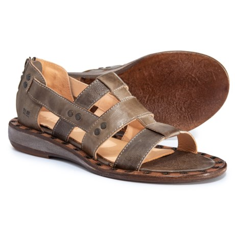 52a3f6bb7be8 Bed Stu Kastoria Flat Sandals - Leather (For Women) in Taupe Rustic