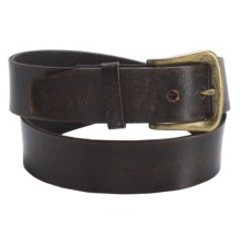 Bed Stu Ponder Leather Belt (For Men) in Black - Closeouts