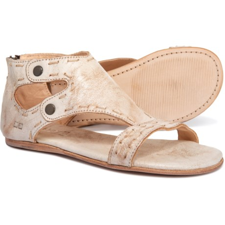 Bed Stu Soto Flat Sandals - Leather (For Women) in Nectar Lux