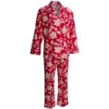 Bedhead Printed Cotton Sateen Pajamas - Long Sleeve (For Women)