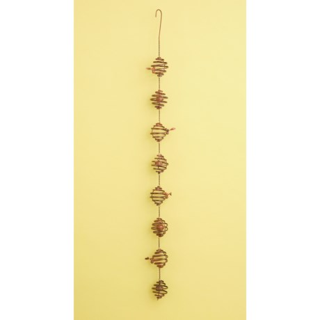 Image of Bee Spiral Hanging Ornament