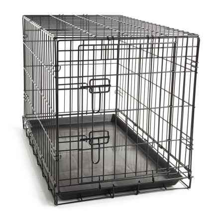 BeGood Easy Pet Crate - Medium-Large in Black - Closeouts