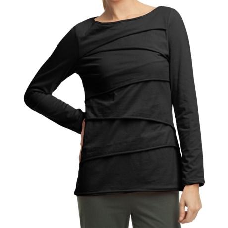 Image of Beijing Cotton Jersey Shirt - Long Sleeve (For Women)
