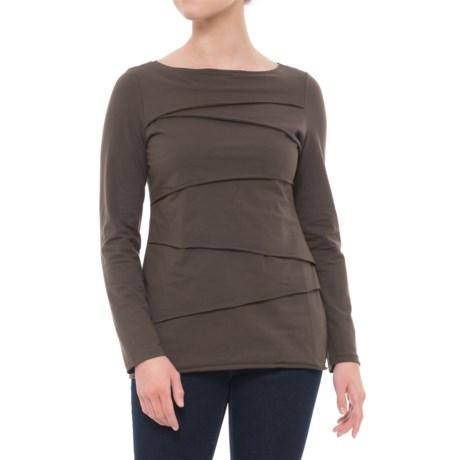 Beijing Cotton Jersey Shirt - Long Sleeve (For Women)