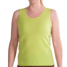 Belford Ballet Shell Sweater - Cashmere, Sleeveless (For Women) in Willow - Closeouts