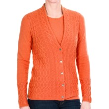 Belford Cashmere Cable-Knit Sweater (For Women) in Pumpkin - Closeouts