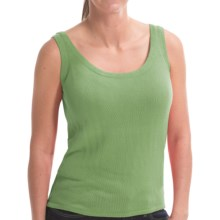 Belford Silk Tank Top (For Women) in Algae - Closeouts