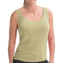 Belford Silk Tank Top (For Women) in Citronella - Closeouts