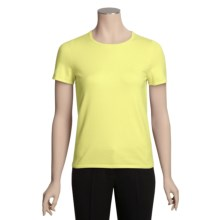 Belford Stretch Cotton Shirt - Pima Cotton, Short Sleeve (For Women) in Citrine - Closeouts