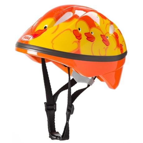 Bell Bambino Helmet (For Little Kids) in Orange/Yellow Duckies