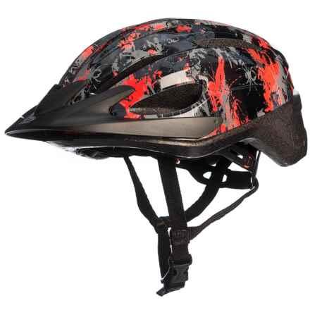 Bell Blast Bike Helmet (For Little Kids) in Orange Bug Camo - Closeouts