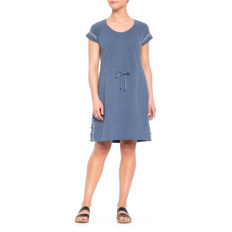 Image of Bell Canyon Dress - Organic Cotton, Short Sleeve (For Women)