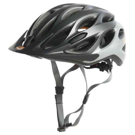 Bell Coast Bike Helmet (For Women) in Matte Gunmetal/Silver/Tang - Closeouts