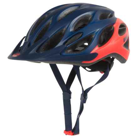 Bell Coast Bike Helmet (For Women) in Matte Midnight/Infrared Repose - Closeouts