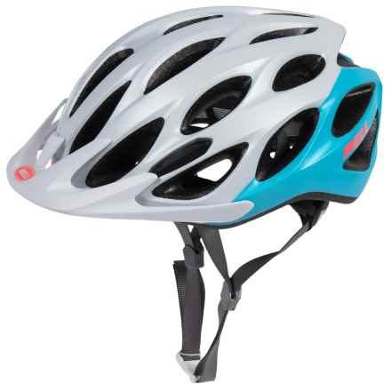 Bell Coast Bike Helmet (For Women) in Matte White/Glacier Blue Repose - Closeouts
