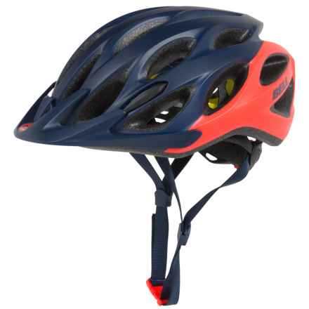 Bell Coast MIPS Bike Helmet (For Women) in Matte Midnight/Infrared Repose - Closeouts