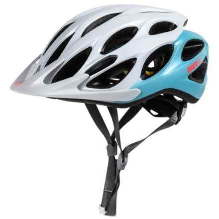 Bell Coast MIPS Bike Helmet (For Women) in Matte White/Glacier Blue Repose - Closeouts