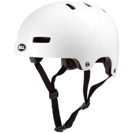 Bell Division Bike Helmet (For Men and Women) in Gloss White - Closeouts