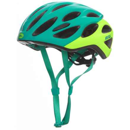 Bell Draft Bike Helmet (For Men and Women) in Matte Emerald/Retina Sear Repose - Closeouts