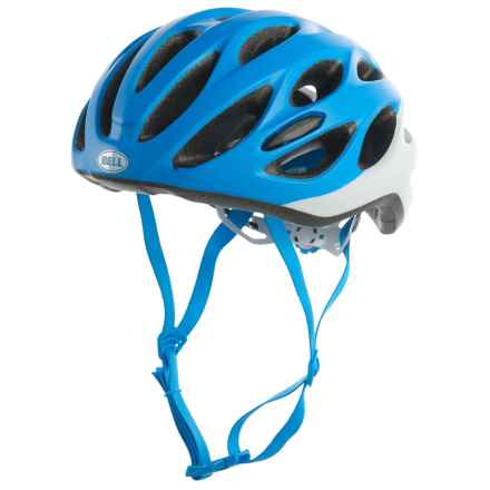 Bell Draft Bike Helmet (For Men and Women) in Matte Force Blue/White - Closeouts