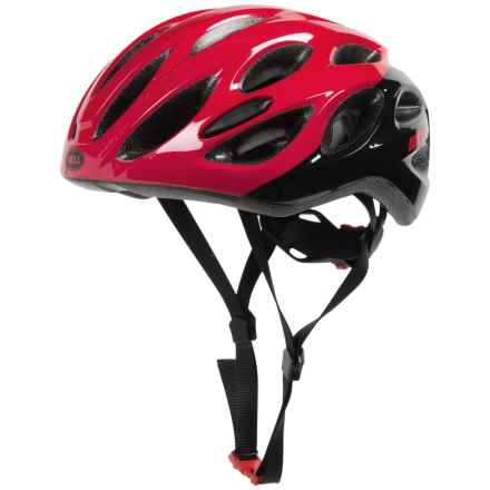 Bell Draft Bike Helmet (For Men and Women) in Red/Black Repose - Closeouts