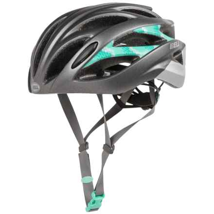 Bell Endeavor Bike Helmet (For Women) in Matte Gunmetal/Dark Mint Shimmer - Closeouts