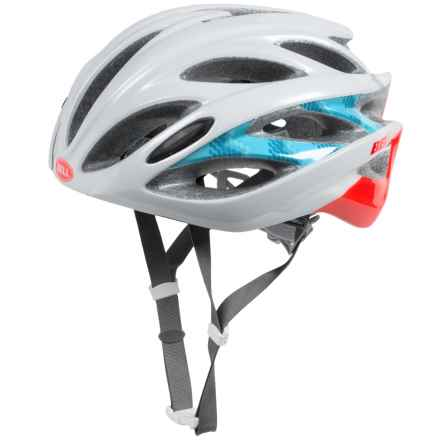 Bell Endeavor Bike Helmet (For Women) in White/Infrared Shimmer - Closeouts