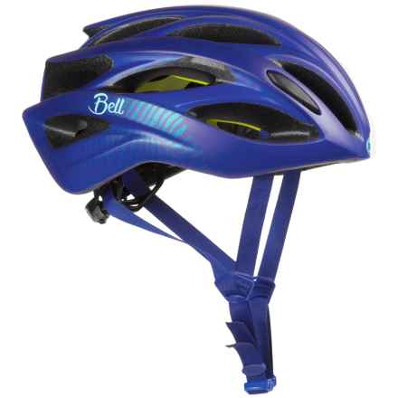 Bell Endeavor Joy Ride Bike Helmet - MIPS (For Women) in Matte Cobalt/Pearl - Closeouts