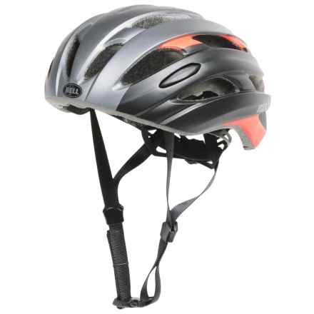 Bell Event Road Bike Helmet (For Men and Women) in Matte Titanium/Infrared Superficial - Closeouts