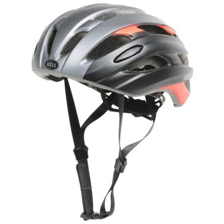 Bell Event Road Bike Helmet (For Men and Women) in Matte Titanium/Infrared Superficial