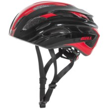 Bell Event Road Bike Helmet (For Men and Women) in Red/Black Road Block - Closeouts