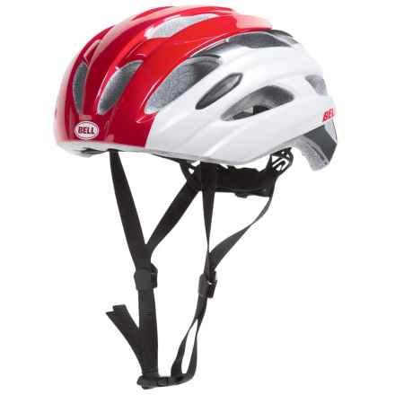 Bell Event Road Bike Helmet (For Men and Women) in White/Red Superficial - Closeouts