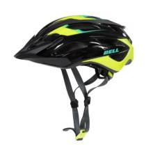 Bell Event XC Mountain Bike Helmet (For Men and Women) in Black/Hi Viz Speed Fade - Closeouts