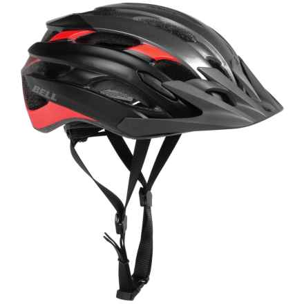 Bell Event XC Mountain Bike Helmet (For Men and Women) in Matte Titanium/Infrared Superficial - Closeouts