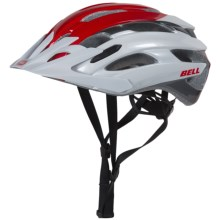 Bell Event XC Mountain Bike Helmet (For Men and Women) in White/Red Superficial - Closeouts