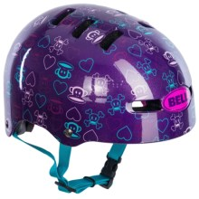 Bell Fraction Multi-Sport Helmet (For Kids and Youth) in Purple Hearts - Closeouts