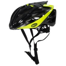 Bell Gage Bike Helmet (For Men and Women) in Black/ Hi-Vis Yellow Draft - Closeouts
