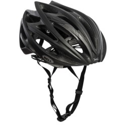 Bell Gage Cycling Helmet (For Men and Women) in Matte Black/Orange/Blue Swerve